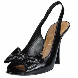 Louis Vuitton Slingback Heels